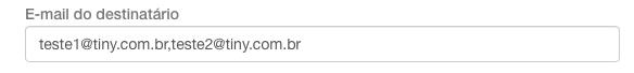 Adicionar e-mail
