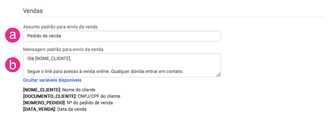 Configurar envio email