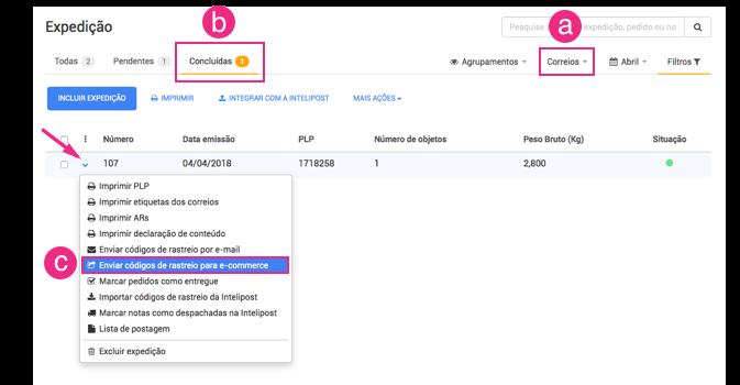 Configurações Rakuten Digital Commerce