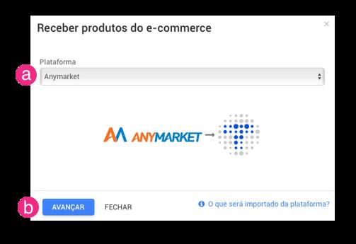 Importar produtos