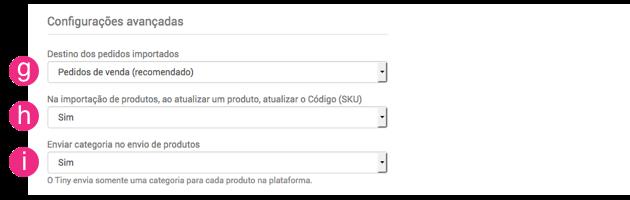 Configurações WooCommerce