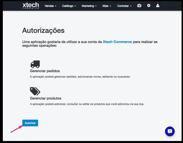 Configurações Xtech