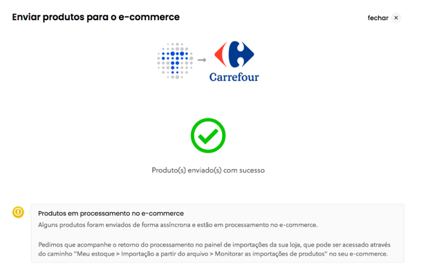 Configurações Carrefour