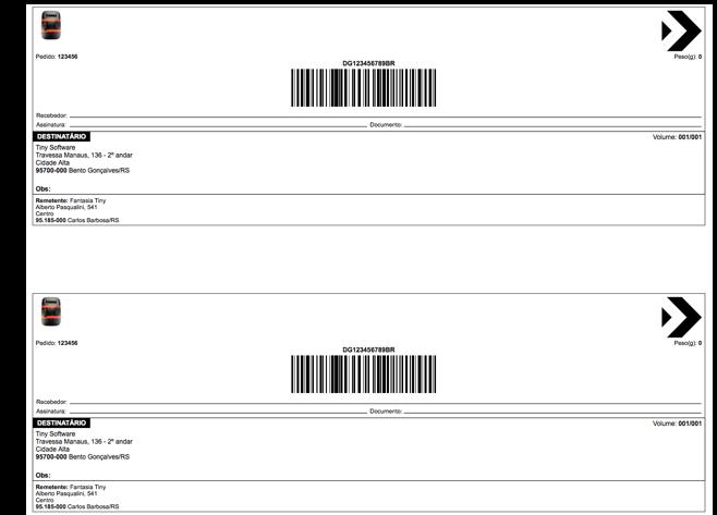 Configurar Etiquetas