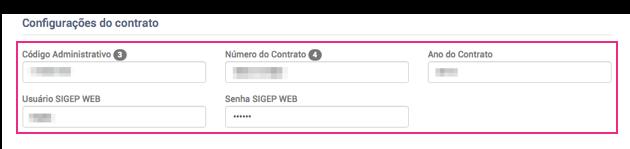 Configurar Sigep Web